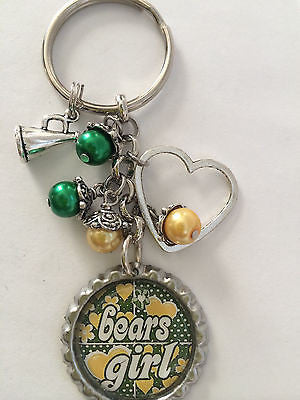 Bears Inspired Keychain Handmade Bears Key Chain