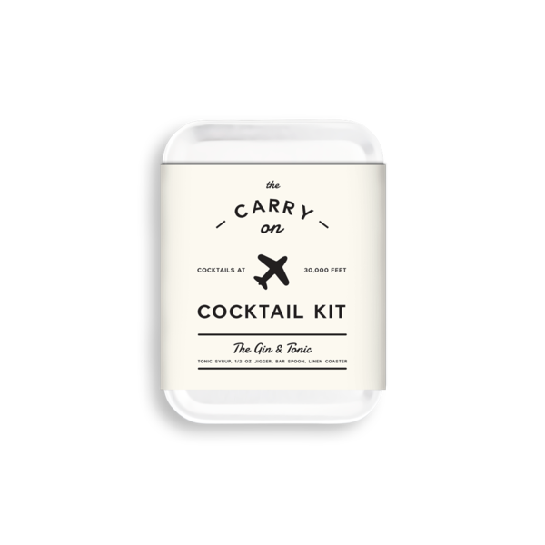 W&P Design - The G&T Carry-On Cocktail Kit