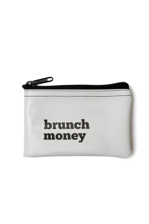 He said, She said - Brunch Money Vinyl Zip Pouch