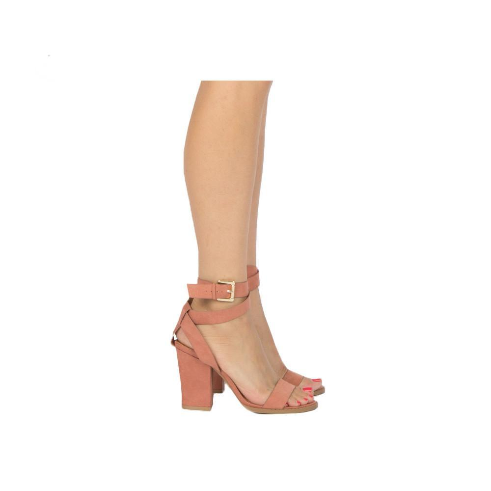 Blush Strappy Sandal