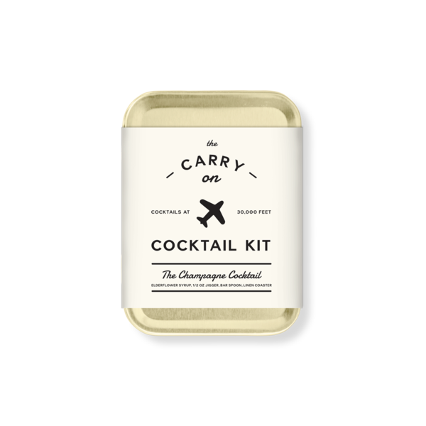 W&P Design - The Champagne Carry-On Cocktail Kit