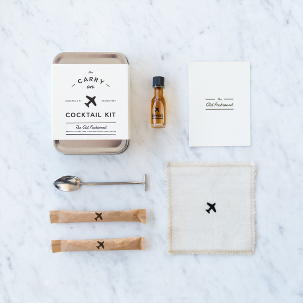W&P Design - The Old Fashioned Carry-On Cocktail Kit