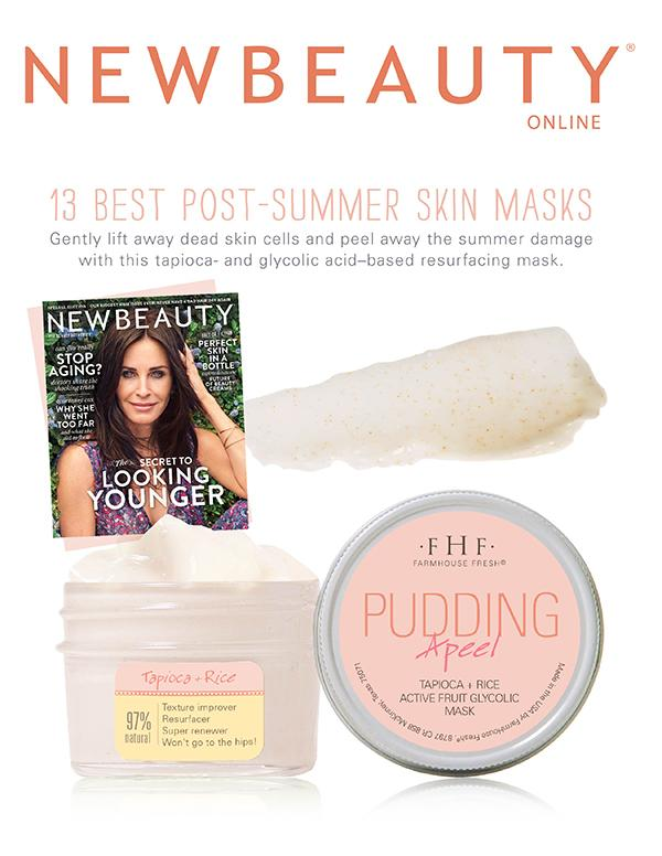 Pudding Apeel - Tapioca + Rice Active Fruit Glycolic Mask By Farmhouse Fresh