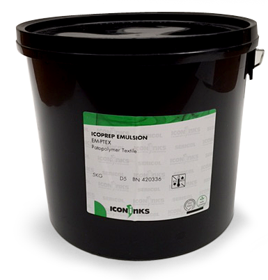 IcoPrep [5kg] photopolymer direct emulsion