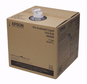 Epson F2000 maintenance - 20L pretreatment fluid