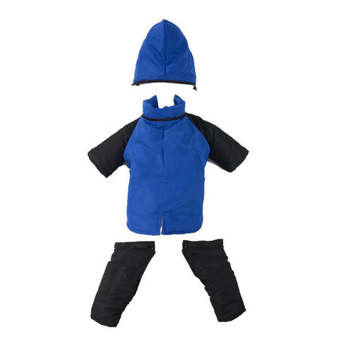 2 in 1 Dog Snowsuit - Blue - PRS