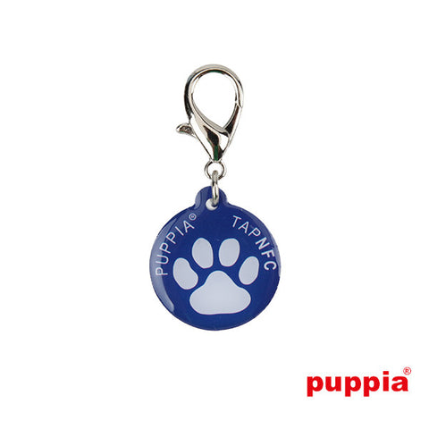 Paw Smart Tag Pet ID Tag by Puppia - Royal Blue