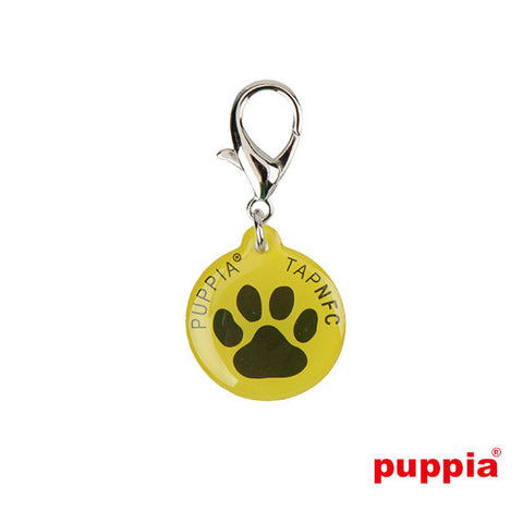 Paw Smart Tag Pet ID Tag by Puppia - Yellow