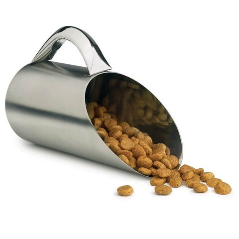 Pet Studio Stainless Steel Food Scoop