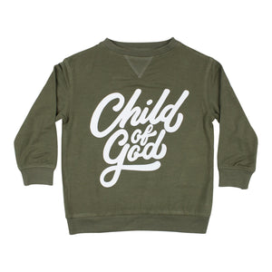 Child of God French Terry Pullover