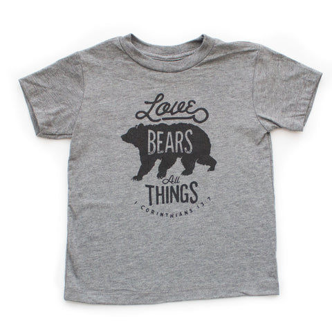 Love Bears All Things Shirt - Brave Little Ones   - 2