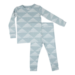 Blue Triangles Two-Piece Set