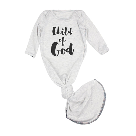 Child of God Gray Gown