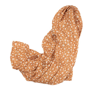 Floral Muslin Swaddle