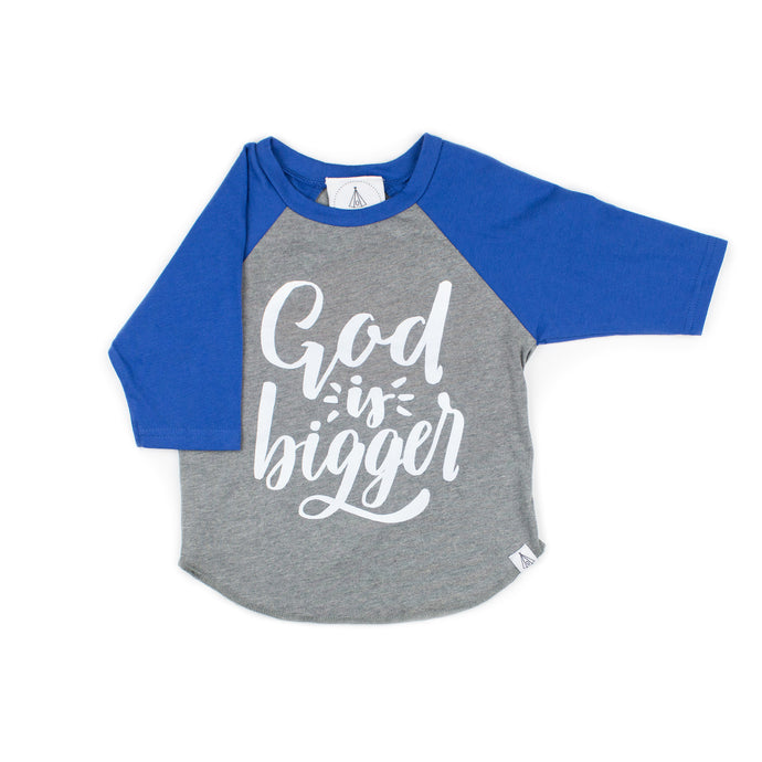 God is Bigger Raglan