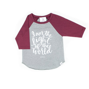 I am The Light of The World Raglan
