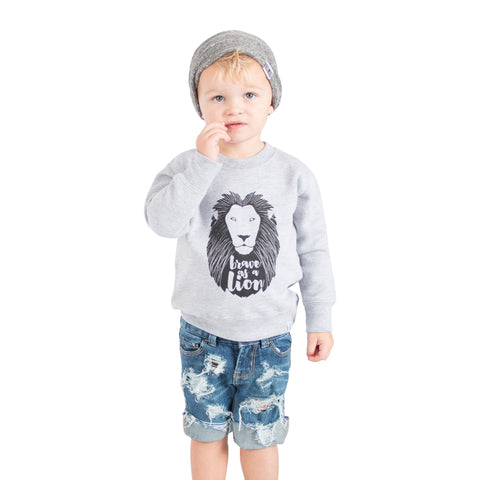 Brave As A Lion Shirt - Brave Little Ones   - 1