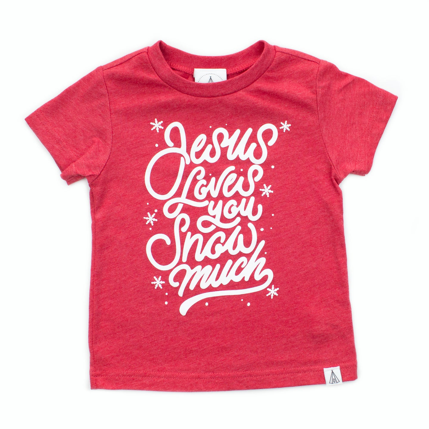 Jesus Loves You Snow Much Shirt