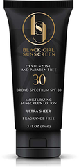 black girl sunscreen