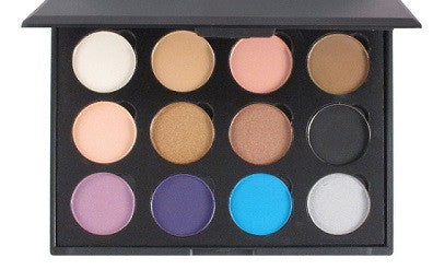 The Basics-12 Color Shadow Palette