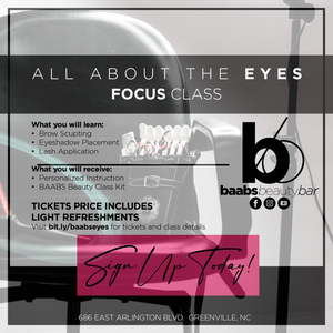 BAABS Beauty Basics I All About the Eyes Focus Class
