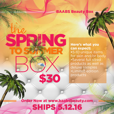 Spring to Summer Box (Ships 5/12/16)