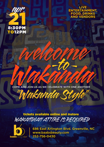 Welcome to Wakanda Social Event