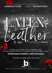 Latex & Leather Valentines Day Social
