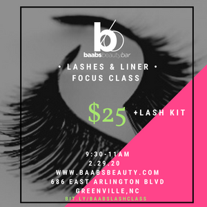 Lashes and Liner Class