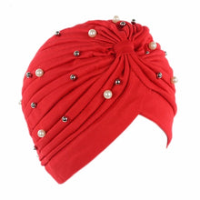 Load image into Gallery viewer, Pearled Turban