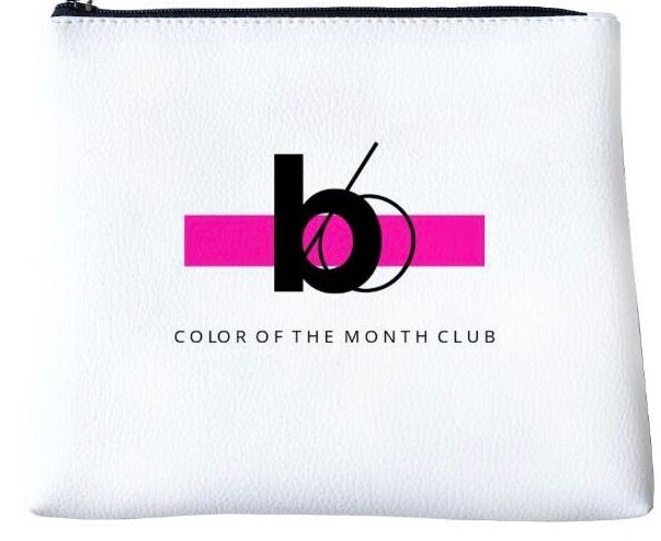Color of the Month Makeup Bag