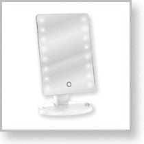 Load image into Gallery viewer, LED Lighted Table Top Cosmetic Mirror