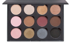 The Naturals - 12 Color Shadow Palette