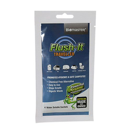 Flush-It Traveller® Portable Toilet Treatment Product