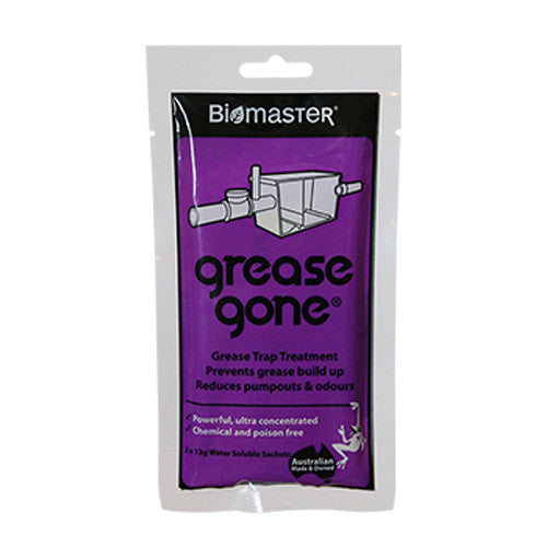 Grease Gone® 2-Pack - Grease Trap Treatment Product