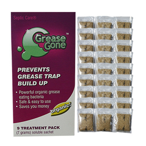 Grease Gone® 27-Pack - Grease Trap Treatment Product