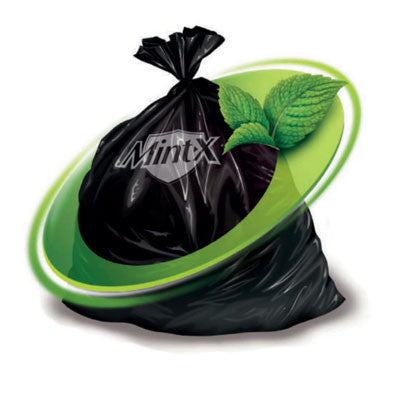 54ltr Mint-X Garbage Bags - 25 Pack