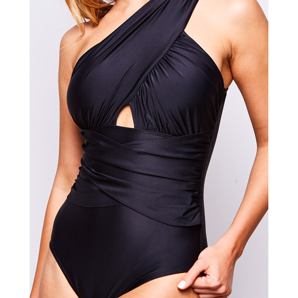 ELLE SWIMSUIT BLACK - Swimwear by Contessa Volpi