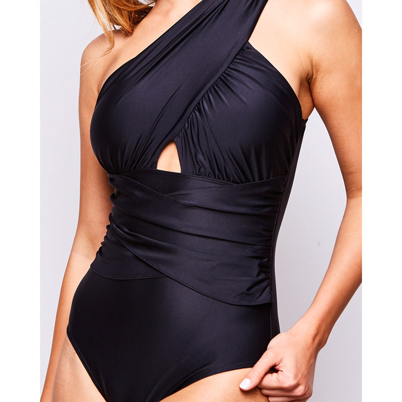 2017 summer 1 elle one piece black swimsuit contessa volpi