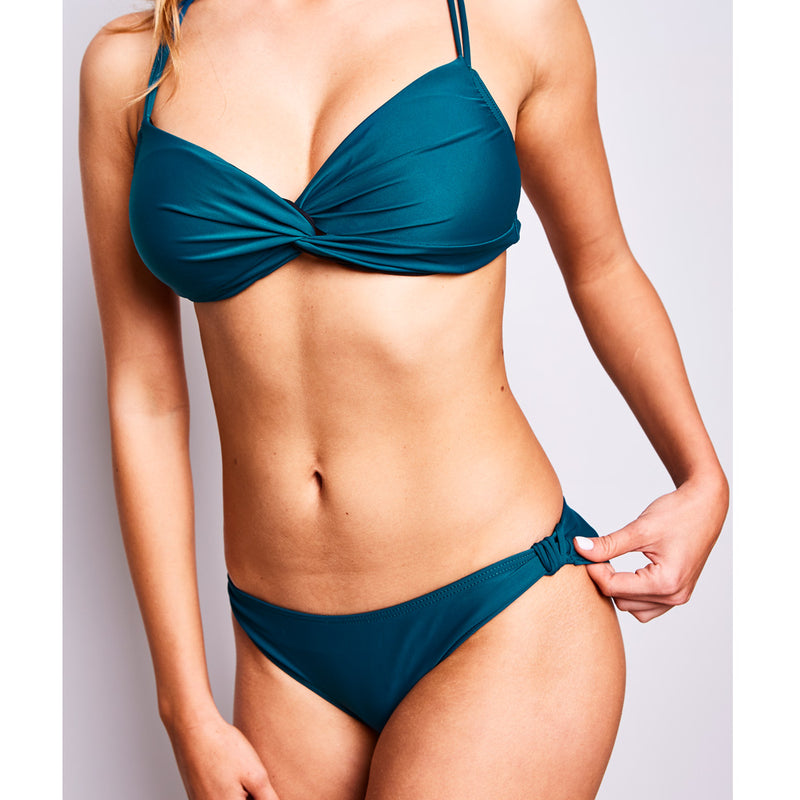 2017 summer 1 estelle bikini dark green swimwear contessa volpi
