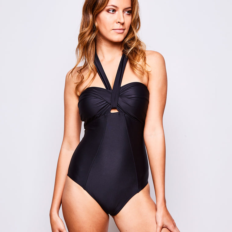 ADINA ONE PIECE BLACK