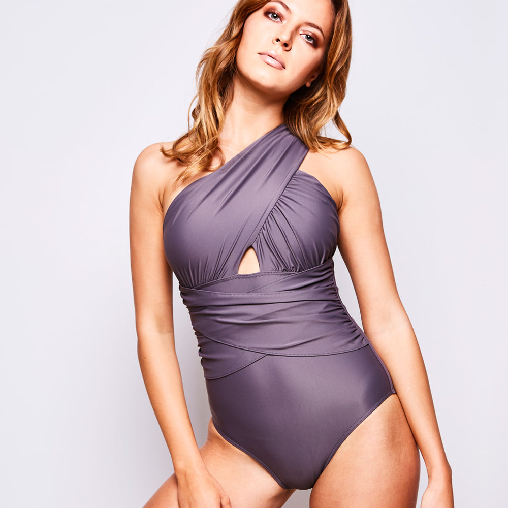 ELLE SWIMSUIT TAUPE