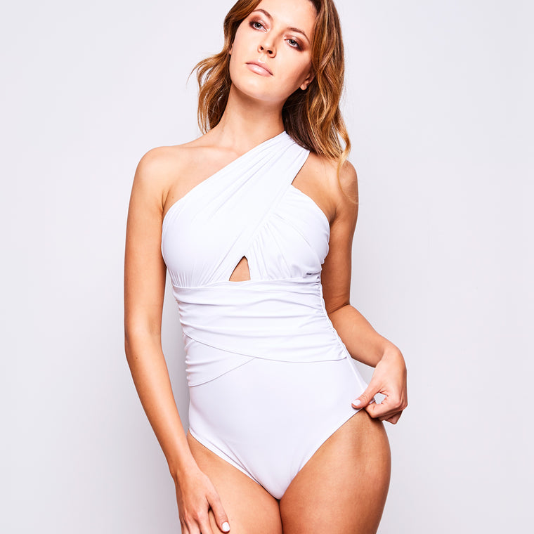 ELLE SWIMSUIT WHITE