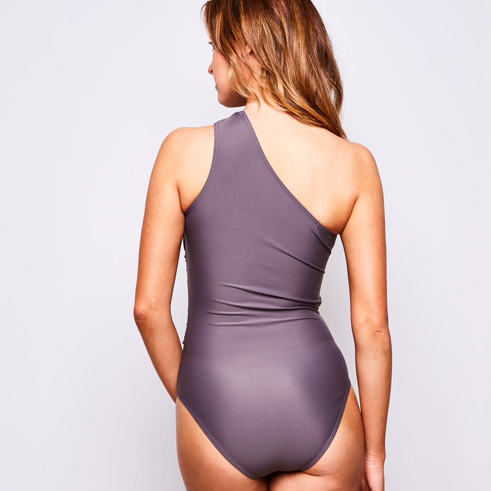 ELLE SWIMSUIT TAUPE - Swimwear by Contessa Volpi