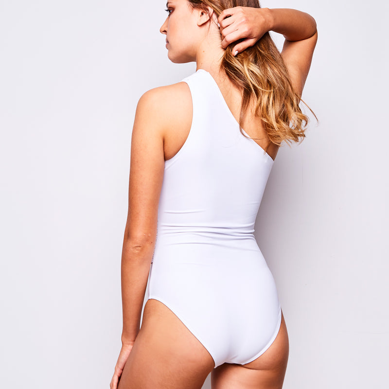 2017 summer 3 elle one piece white swimsuit contessa volpi