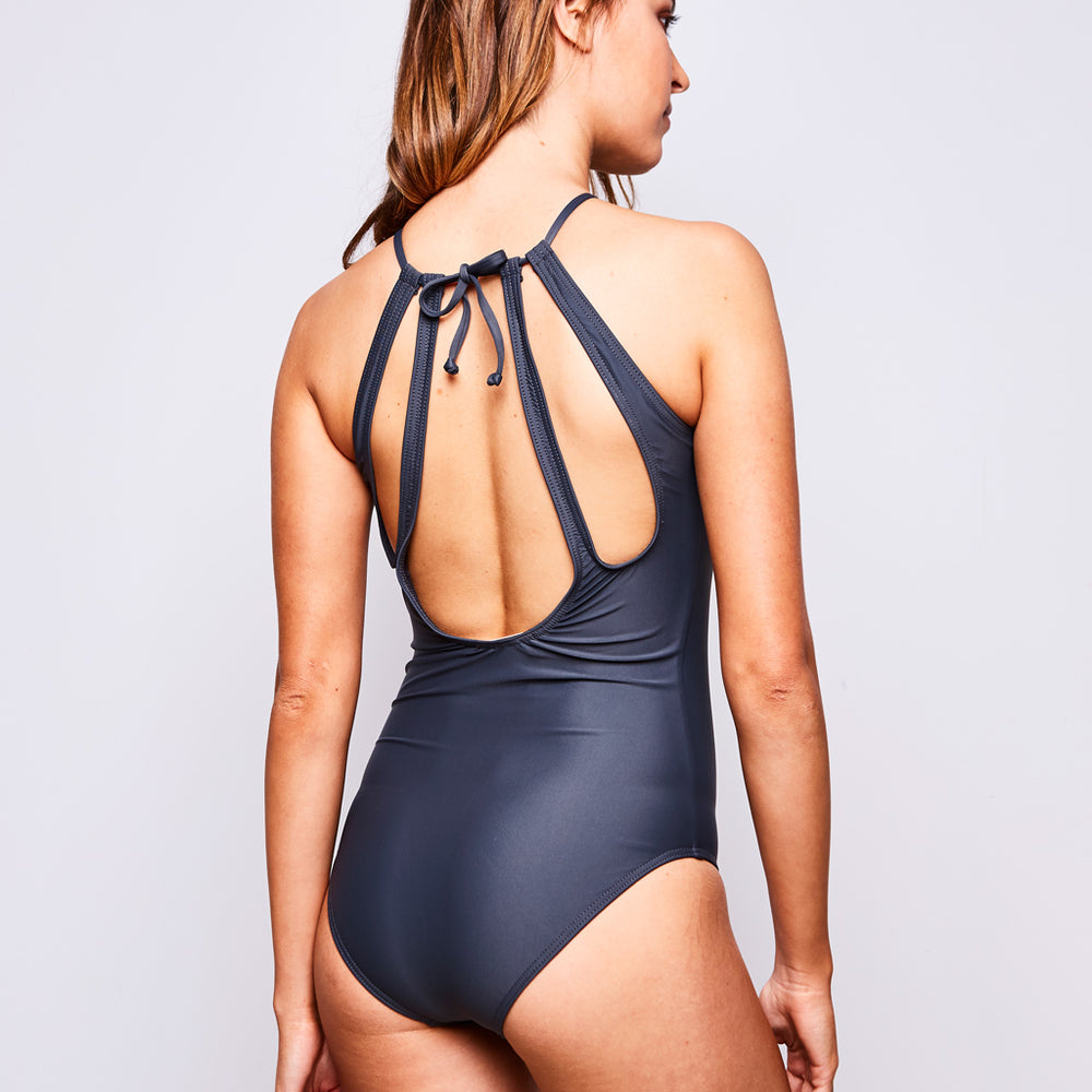 EMMA ONE PIECE GREY - Swimwear by Contessa Volpi