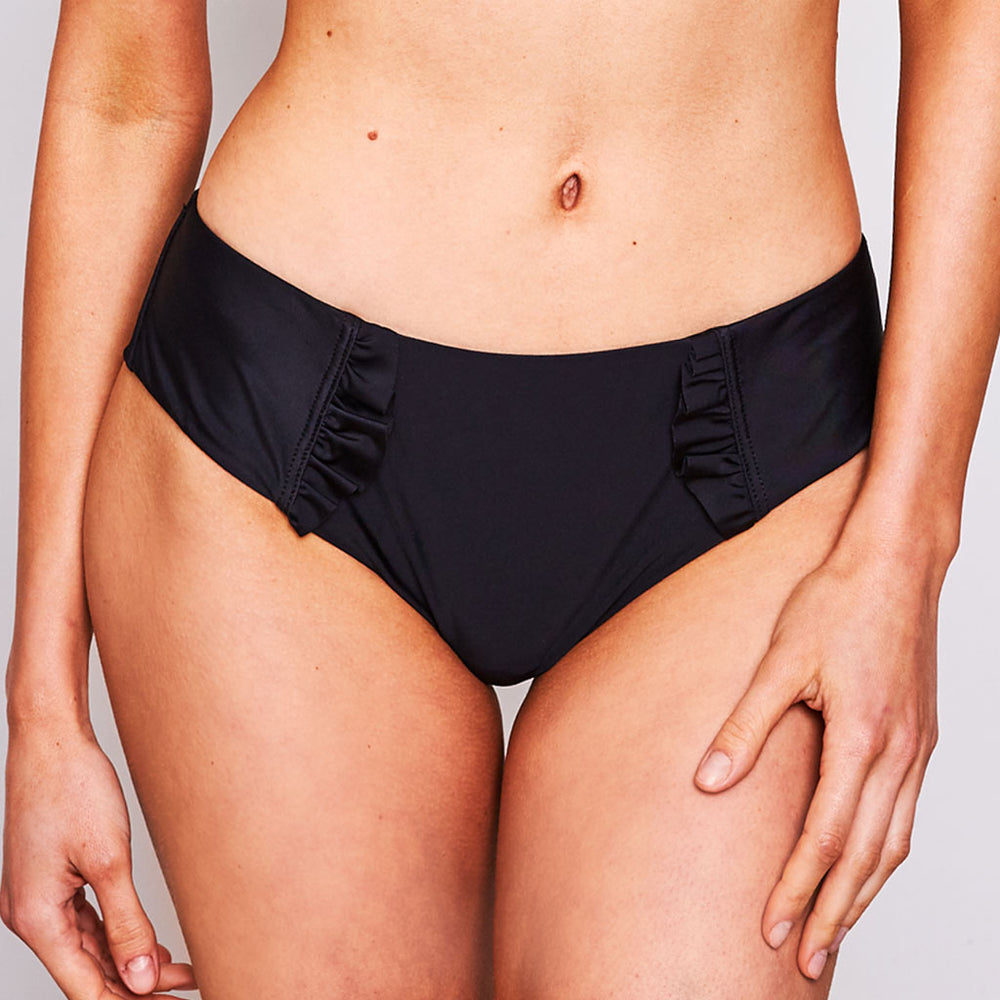 Dalia Bikini Bottom Black - 'The quality of the bathers is amazing'