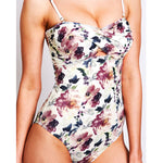 "Alice One Piece Wash Flowers - ""Fantastic quality and exceptional designs"" Valentina M. - Swimwear by Contessa Volpi"