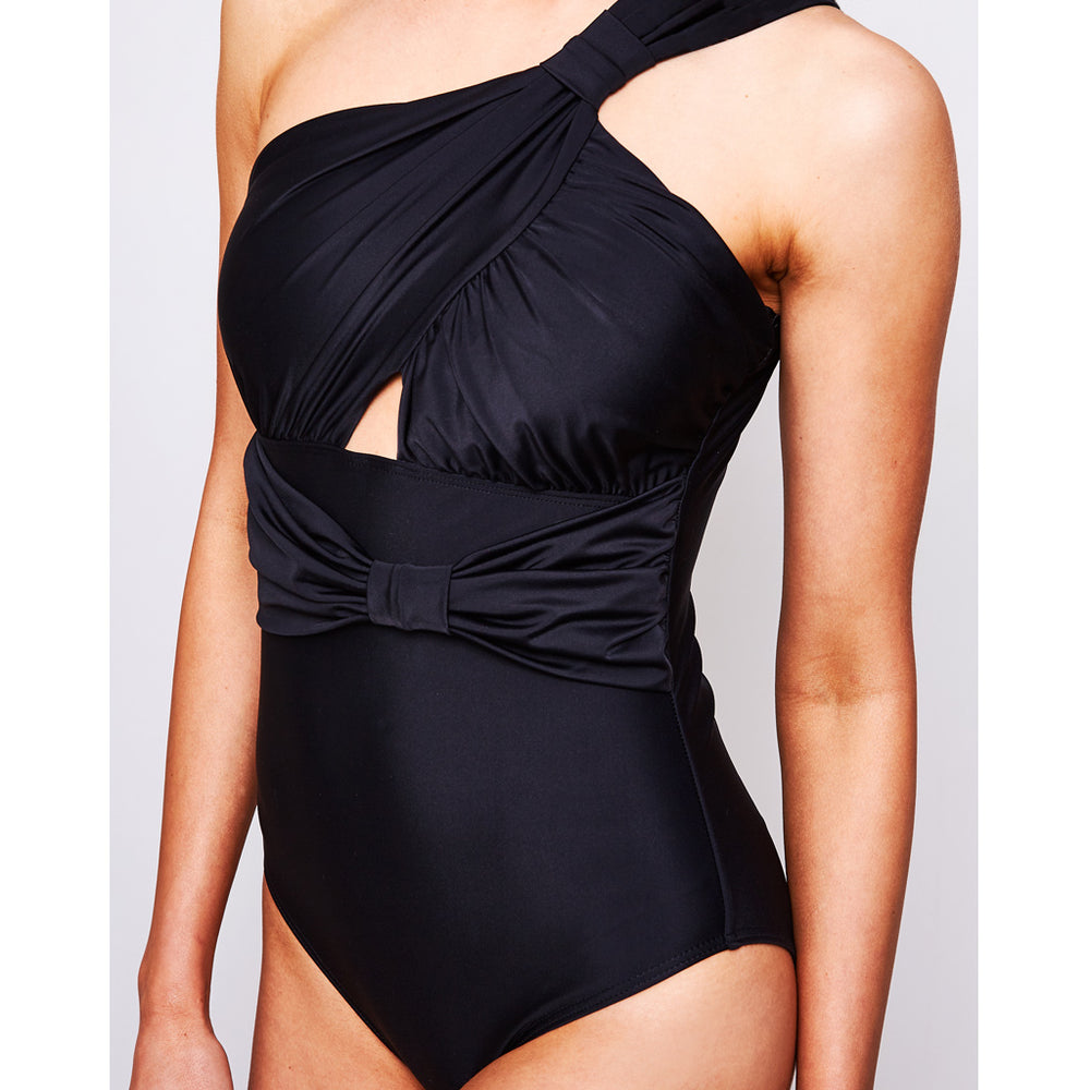 SHARLISE ONE PIECE BLACK - Swimwear by Contessa Volpi