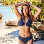 Mia bikini dots navy blue swimwear | Contessa Volpi Summer 2019/2020 Collection